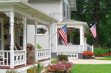 Do you display your American flag on holidays?