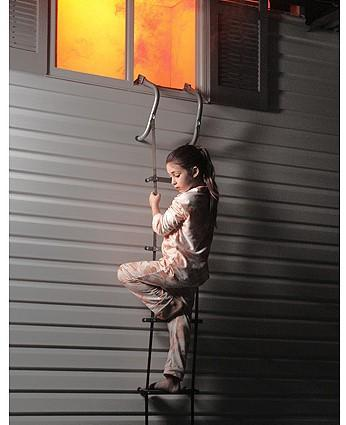 For most of my life I have lived in two-story houses, yet I have never had a portable fire escape ladder. I recently bought a decent one for $50.00. Do you have an escape ladder?