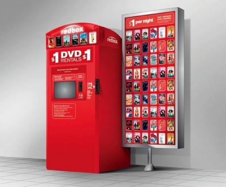 Have you ever rented a DVD from Redbox?