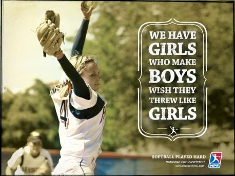 Will you be watching the National Pro Fastpitch softball championship (USA) on CBS this coming weekend?