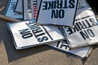 Have you ever crossed a picket line?