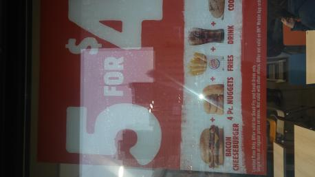 Have you visted Burger King to try the 5 for $4 menu yet?