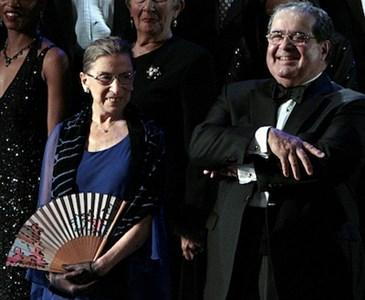 Supreme Court Justices Scalia & Ginsburg were actually very good friends even though they had different views on court decisions. Do you agree or disagree that their attitude towards each other is something we need to see more of in the USA?