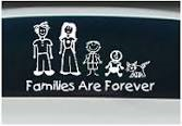 Do you have family decals on your car?