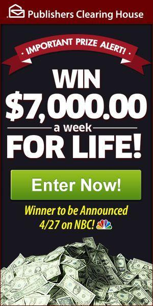 Have you heard of the Publisher Clearing House sweepstakes?