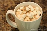With or without marshmallows?