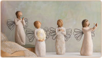 I am an avid collector of Willow Tree Angels and Figurines. Would you ever consider collecting them?
