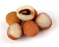 Lychee has a flowery scent and a delicate, sweet flavor. The inside is white and juicy, and it contains a large seed in the middle which is not edible. Does it sound like a fruit you would like or want to try?