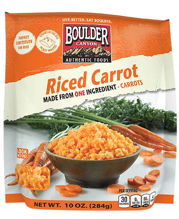 Have you ever made riced vegetables?