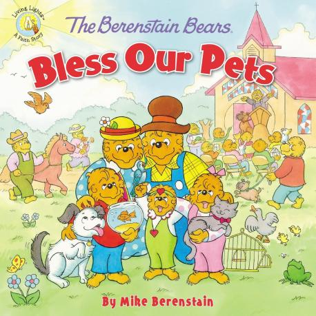 Did you know there is a book series called Berenstain Bears: Living Lights by their son, Mike Berenstain, which has faith-based themes in each book?