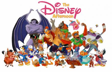 Did you ever watch The Disney Afternoon two-hour TV program block from 1990-1999 on the Disney Channel, which aired animated TV series?