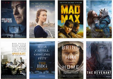 Which of these 2016 Best Picture nominees have you seen?