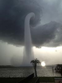 Have you ever witnessed a water spout?