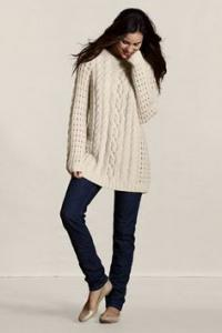I went to buy a sweater online the other day that was so beautiful, but when I saw the price I about fell over. It was $200.00. Have you ever purchased anything from Lands End?