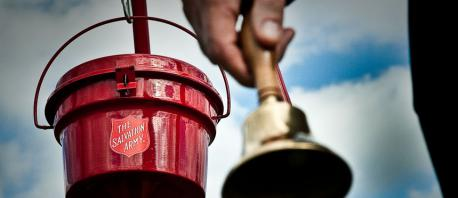 Will you be giving some of your change to the people from the Salvation Army, who stand outside of stores?
