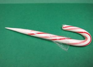 Have you ever accidentally stabbed yourself or someone else with the sharp end of a candy cane?