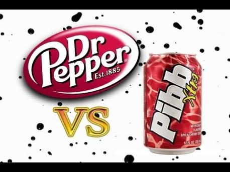 Which do you prefer: Dr. Pepper or Mr. Pibb?