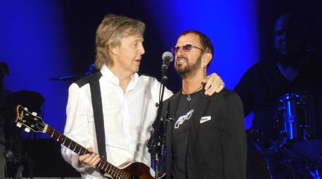 On July 13th, Beatles fans got something they hadn't in 53 years: the sight of Paul McCartney and Ringo Starr playing together on stage at Dodger Stadium. Did you hear about, or happen to see this concert?
