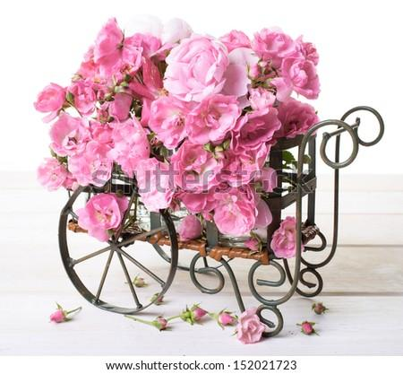 Imagine you had a cart of Flowers to give away. Who would you give the Flowers to and why?
