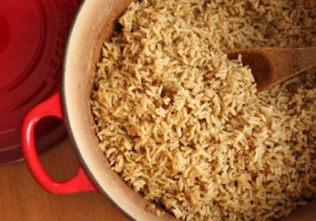 Did you know that Rice is an edible starchy cereal grain?
