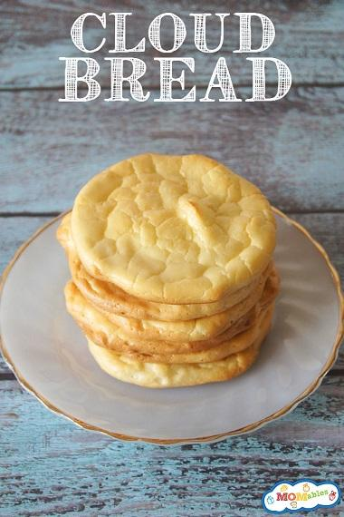 Unlike most breads, cloud bread is low-carb, gluten-free, is also high in protein, and is a delicious homemade bread replacement. Are you familiar with what cloud bread is?