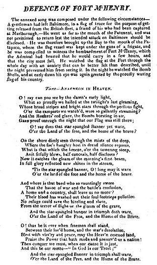 What facts are you familiar with about the Star-Spangled Banner?