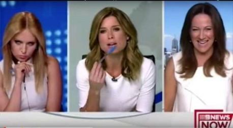 All the while the segment's guest sits bewildered, trying to help but getting dismissed. Did you even pay attention to the segment's guest that was wearing white also (lady to the far right)?