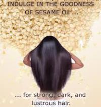 Are you aware sesame oil induces hair growth?