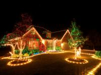 Do you enjoy Christmas lights and decorations outside?