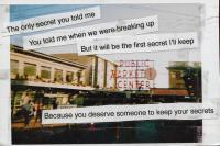 Are you familiar with the website Post Secret?