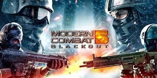 do you play modern combat 5 multiplayer online mode on smartphone?