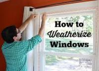 Do you put plastic film on your windows during winter for better insulation and to save on heating cost?