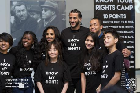 Colin Kaepernick has done more than just bring worldwide attention by kneeling. In 2018, he pledged and donated $1 million towards many different charities helping disadvantaged people...Meals on Wheels, Coalition For The Homeless, The Justice League NYC, The Advancement Project, Mothers Against Police Brutality, Youth Services Inc., Black Veterans For Social Justice, and the Black Youth Project just to name a few. His own personal project is the Know Your Rights Camp. Their mission is: To advance the liberation and well-being of Black and Brown communities through education, self-empowerment, mass-mobilization and the creation of new systems that elevate the next generation of change leaders. Before this survey, did you know about Kaepernick's philanthropy?