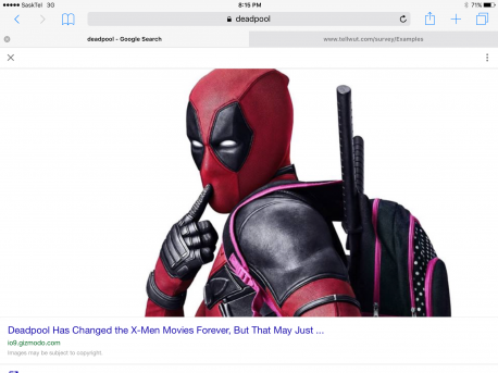 Did you like the new Dead Pool movie with Ryan Reynalds?
