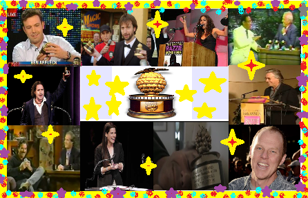 Nominees are notified and graciously invited to attend. ( March 27, this year ) Of all past invitees , only a few have ever shown up to accept their award, ( and had fun with it ) or gracefully accepted at another venue, like The Tonight Show. If you were nominated for any Razzie, would you attend?
