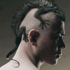 Have you ever had a unusual haircut?