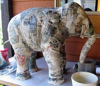 Have you ever done paper mâché?