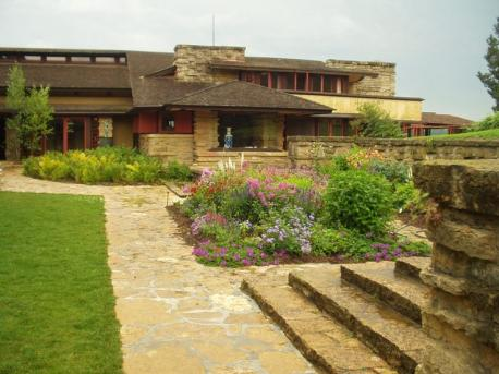 Taliesin was built in 1911, and was Wright's primary residence, living there until his death in 1959. You can now visit the home in Spring Green, Wisconsin, as it is part of the Wright trust.