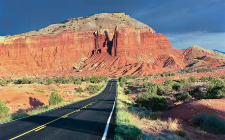 State Route 12, Utah---Running straight through Capitol Reef and Bryce Canyon national parks is State Route 12, full of sandstone canyons and cliffside roads that have to be seen to be believed.