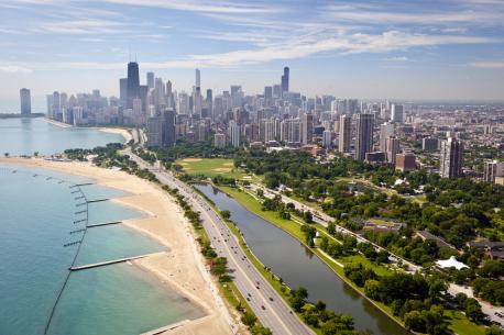 Lake Shore Drive, Chicago---Take in all that Chicago has to offer with this scenic drive along the Lake Michigan waterfront. Such an iconic skyline.