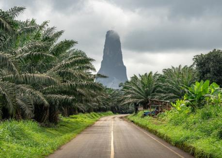 The Democratic Republic of São Tomé and Principe - the third longest official country name in the world, almost more name than country. It is comprised of two main islands — São Tomé and Principe — and a few tiny islets. It is in the top 25 smallest countries, located off the coast of central Africa in the Gulf of Guinea, and is a total of 386 square miles. The