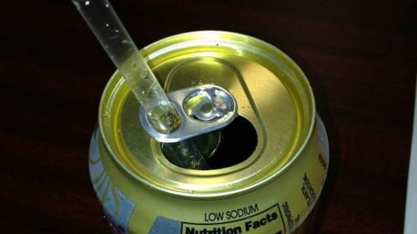 Soda Can Tab - This tab was designed to be flipped over again and used as a holder for your straw. Obviously, most of us may not use straws to drink from cans (or don't drink from cans at all). It has been said that is why manufacturers started making cans with a wider mouth a few years ago. But as I think about it, using the tab to hold the straw in place makes perfect sense. Have you ever used this nifty little tab to hold your straw?