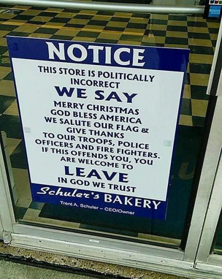 A store in Ohio recently put up a sign that garnered much attention. Have you heard about this?