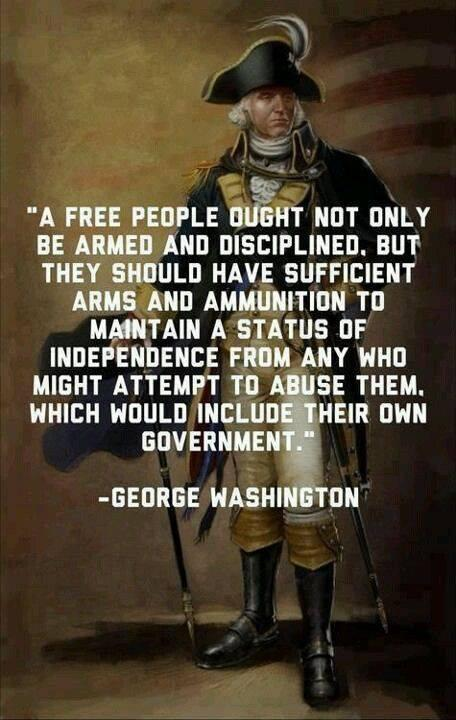 Have you ever heard of this quote (or something similar) from the first president of the United States, George Washington?
