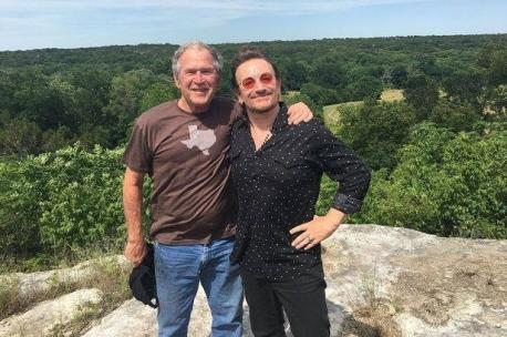 Recently, Bono was in Texas as part of the current U2 tour, and paid a visit to his old friend. It is amazing what can be accomplished when mature people find common ground for the good of all. Do you appreciate when people can put their differences aside and become friends with others they may not agree with on all things?