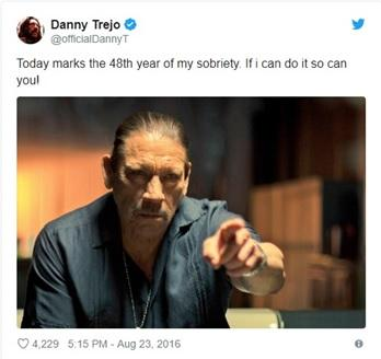 While many are hailing Danny Trejo a hero for his courageous act, he's giving all the credit to God.