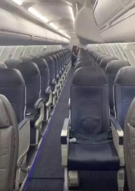 Are you surprised that this man was able to have a flight - on a large passenger jet - all by himself?