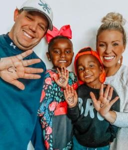 Jessica Satterfield of Greenville, South Carolina understands this concept better than most. The mother of three doesn't look like any of her adopted children, but that doesn't make them any less hers. She recently went online to discuss what it's like to raise children who