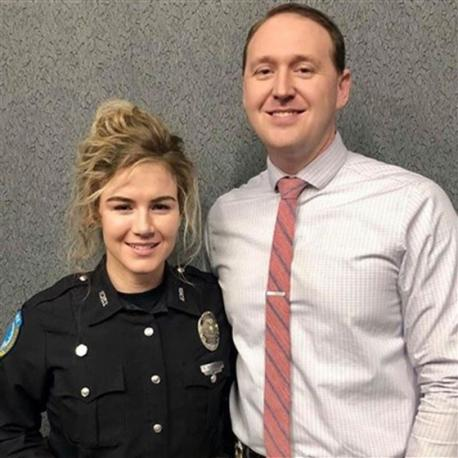 Detective Chase McKeown and Officer Nicole McKeown of Elizabethtown Police Department were enjoying a weekly date night on Feb. 15 at a branch of Raising Cane's restaurant when they noticed something was wrong and sprung into action. If you are married, do you go on regular dates with your spouse?