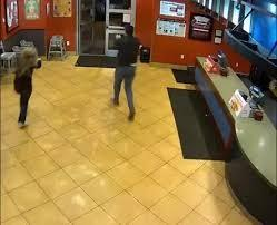 The suspect, whom police identified as Justin Carter, is seen in the video running out of the restaurant, with the couple in pursuit. Carter made his first appearance in court related to the case Monday the 17th. Do you think Mr. Carter should get a lighter sentence since he wasn't successful in his robbery attempt?